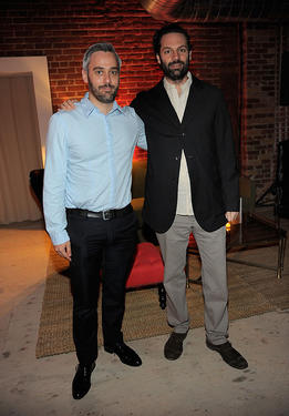 Iain Canning and Emile Sherman at the Colin Firth&#39;s 50th birthday party during the 2010 Toronto International Film Festival.